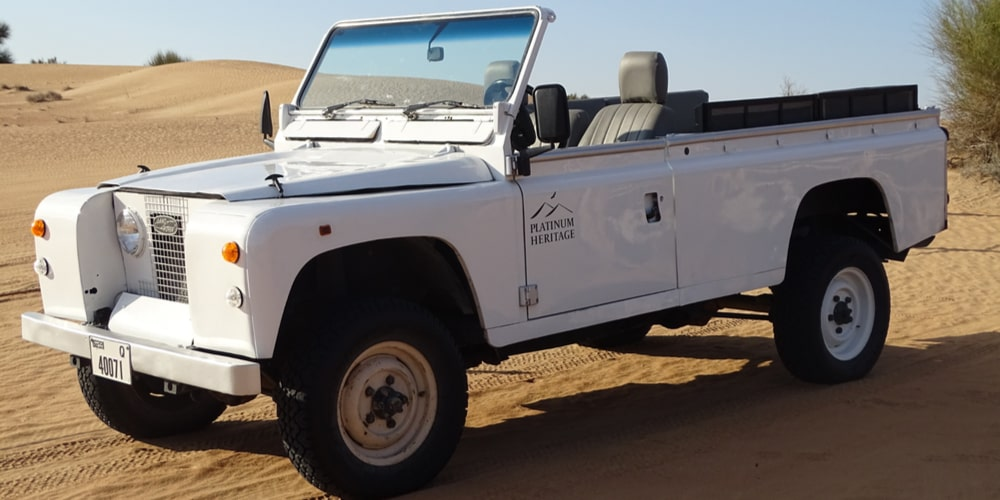 Desert Safari-Land Rover